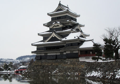 Matsumoto Castle is not far from Nagano City