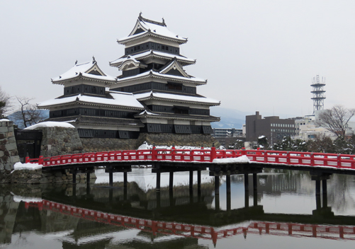 Matsumoto Castle is a great cultural activity