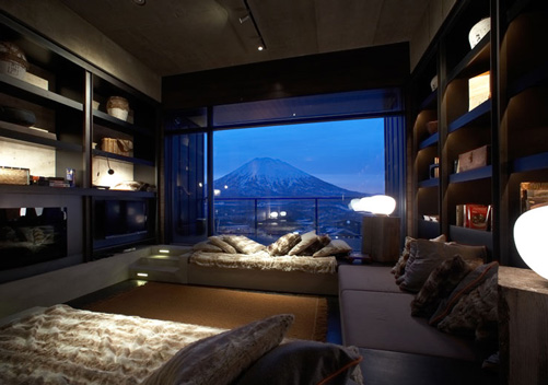 suiboku luxury apartments are perfectly located at niseko adjacent to