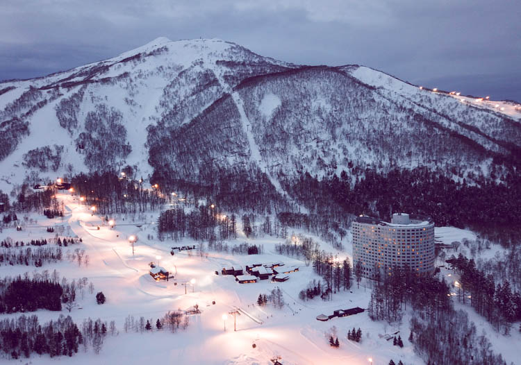 The Niseko shopping is the best of the Japan ski resorts