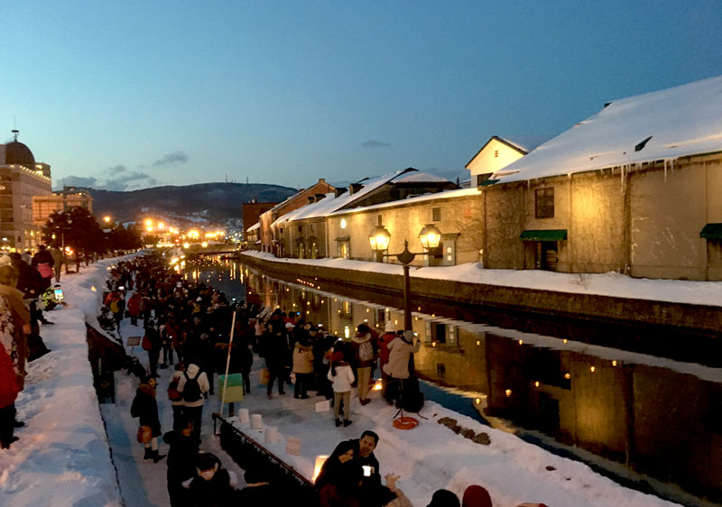 Snow Light Path Festival Otaru