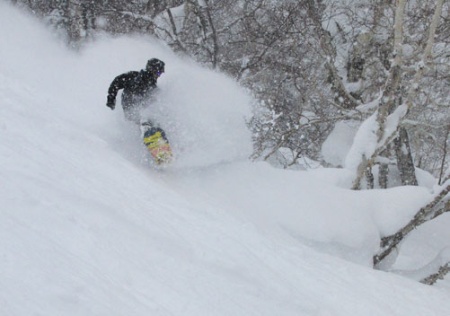 Sapporo Teine: best skiing in Japan award for the steeps