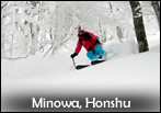 Top rated resort for Powderhounds in Japan: Hakkoda Honshu