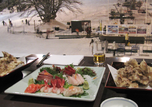 Japanese Food - Highlight of a Japan Ski Holiday