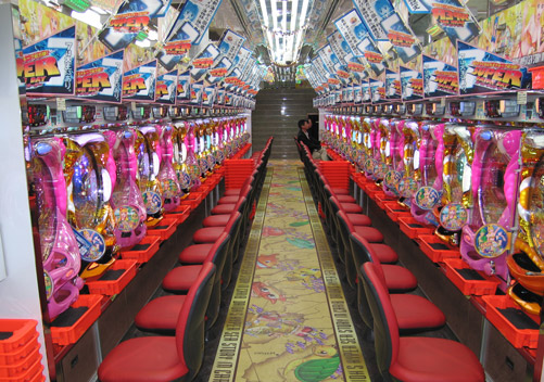 Pachinko Parlour - Popular Japanese Game
