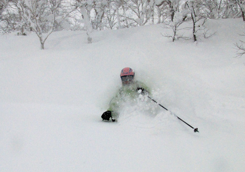 Rusutsu is a great family ski resort & has some of the best tree skiing in Japan