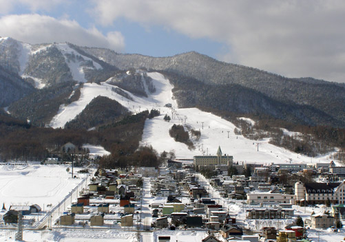 Furano in Hokkaido has some of the steepest piste terrain in Japan