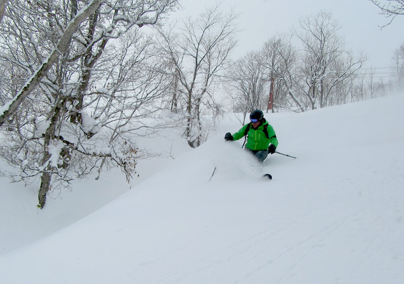 Piyashiri claims to have the best snow in Hokkaido
