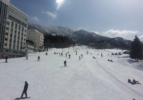 Some of the Ryuoo accommodation is ski-in ski-out