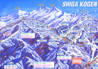 Open Shiga Kogen Trail Map