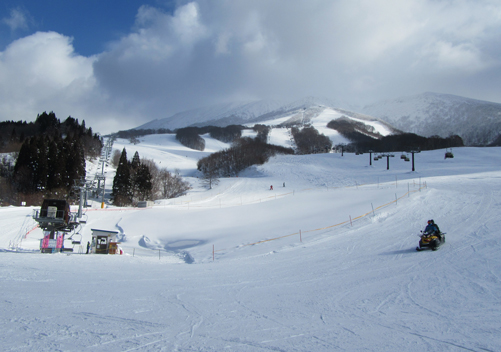 Tazawako Ski Resort Japan