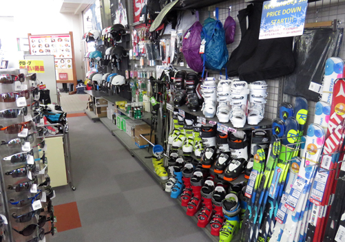 The pro shop also sells