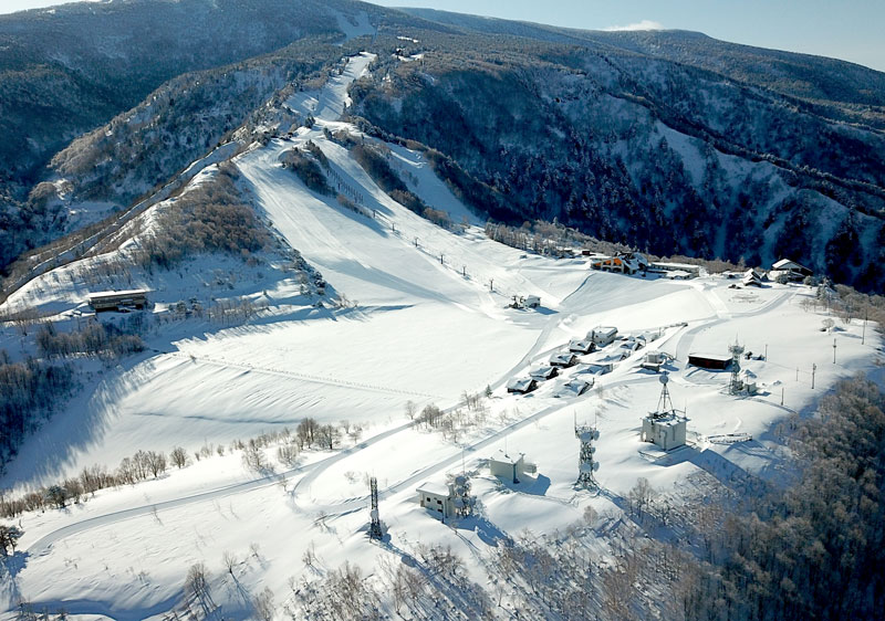 The upper zone of Tengendai Kogen
