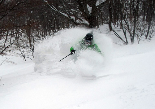 The Tohoku ski resorts offer plenty of fresh powder