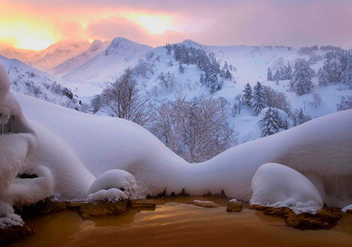 Tokachidake Onsen - photo by Mike Banks