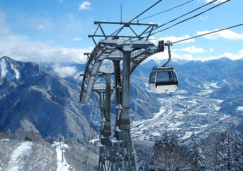 It takes as little as 75 mins to get to Gala Ski Resort from Tokyo