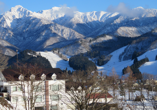 View from Yuzawa