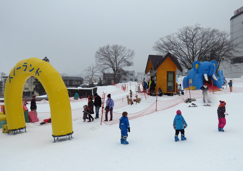 Yuzawa Kogen is ideal for snow play
