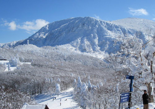 Zao Ski Resort Japan