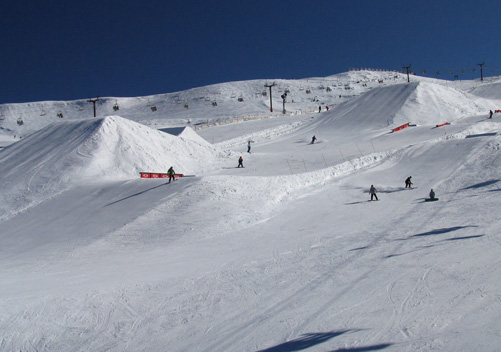 Heaven for Terrain Park Junkies