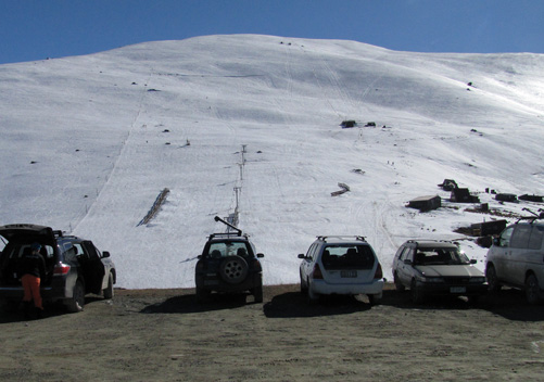 Fox Peak ski field NZ