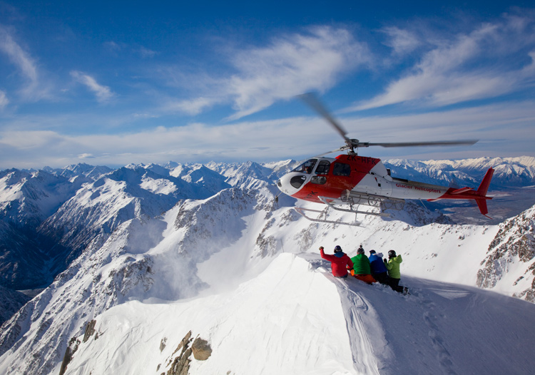 Methven Heliski....ready for take-off