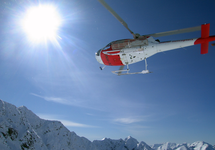 "Methven Heliski territory, the ""Arrowsmiths"""