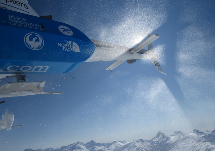 Southern Lakes Heliski use B2 & B3 squirrel helicopters for small groups