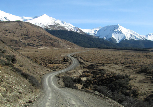 Access Road to Mount Cheeseman