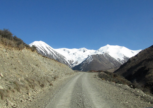 Typical NZ Ski Field Access Road
