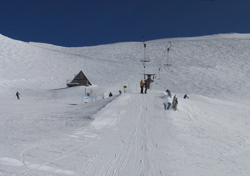 Alpine Off-Piste Ski and Snowboard Terrain