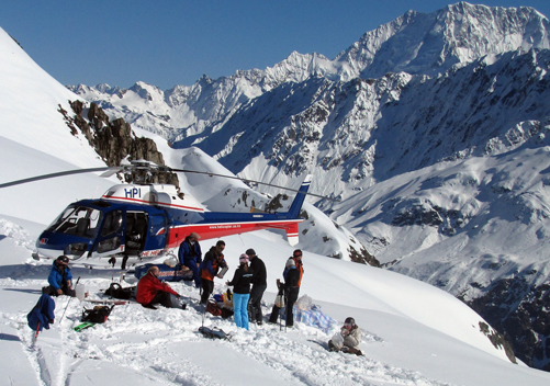 Wilderness Heli Skiing Mt Cook
