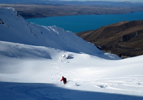 Heli Skiing Mt Cook Region (Ben Ohaus): Wilderness Heliski