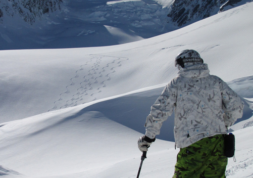 Ski The Tasman: an amazing Mt Cook ski activity