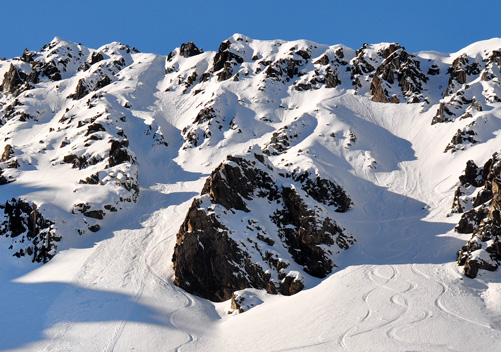 Mt Olympus New Zealand has lots of steeps