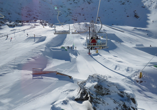 The Remarkables - great for families and those that like terrain parks