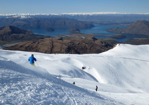 Treble Cone: great for intermediates through to experts