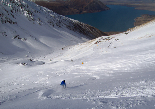 Ohau: inexpensive, no crowds and varied terrain