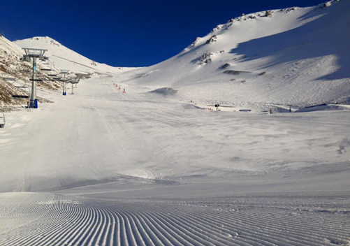 Various runs are groomed daily