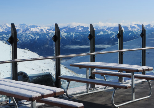 Views from the Remarkables day lodge