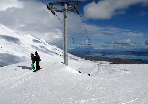 Roundhill has two T-bar lifts