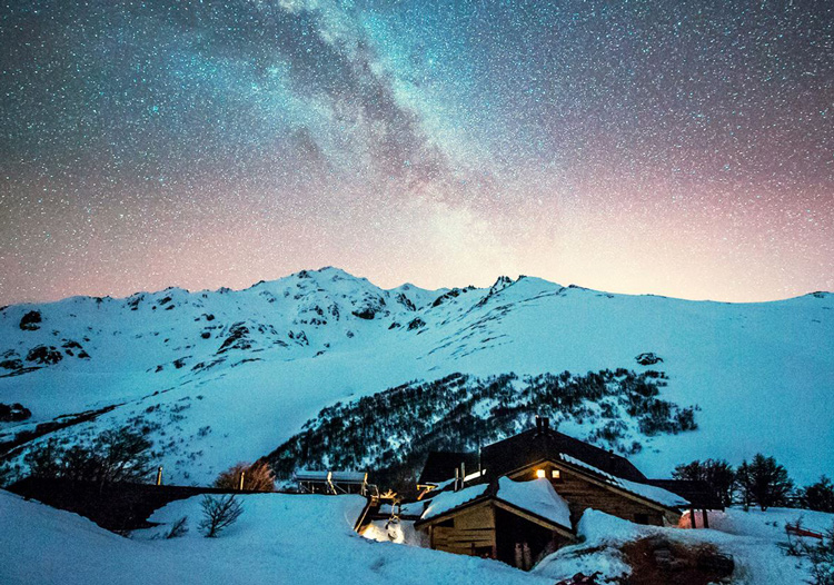 Baguales Mountain Reserve - The night time sky is a spectacle