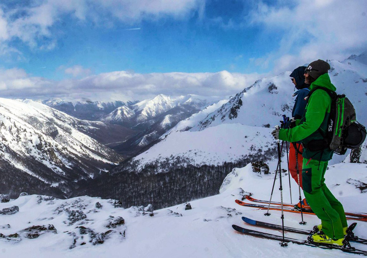 Baguales Mountain Reserve - The terrain is huge with alpine and tree skiing options
