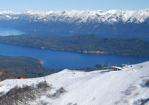 Cerro Bayo is just over an hour north of Bariloche