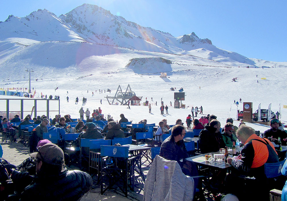 Las Leñas Ski Resort - fashion shows are part of the culture