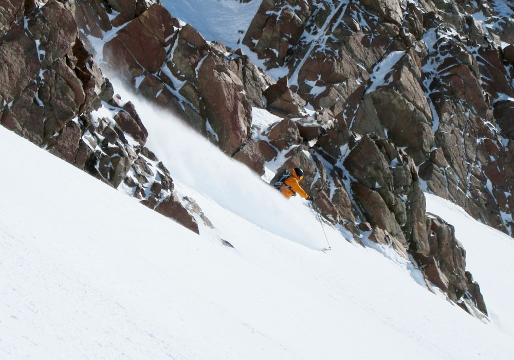 Las Leñas Ski Resort - apres in the Andes sun is a nice way to end the day