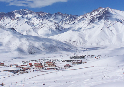 Las Lenas is Agentina's second most popular ski resort