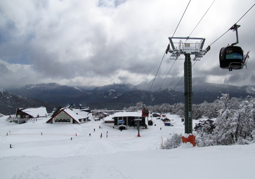Cerro Chapelco is a very popular family ski area in Argentina