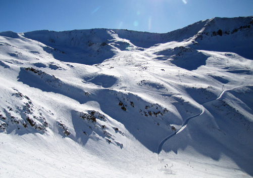 La Hoya has a vast amount of off-piste terrain and dry powder
