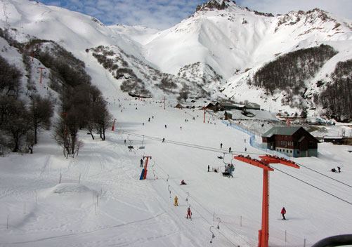 Termas de Chillan at Nevados de Chillan ski resort